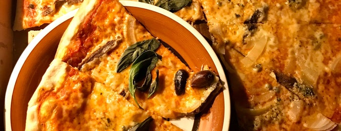 Pizzeria Oliven is one of Veggie in The City - Sthlm.