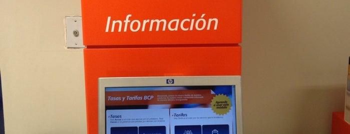 Banco de Crédito BCP is one of Orte, die Miguel gefallen.