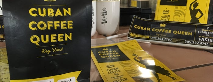 Cuban Coffee Queen -Downtown is one of vegan.