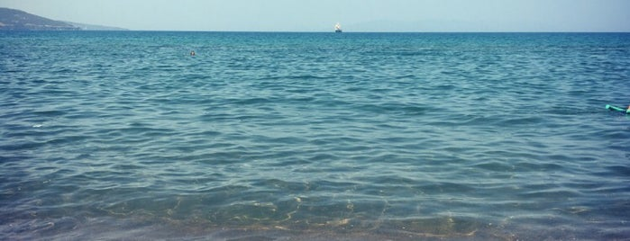 Dikili Mavi Bayrak Beach is one of İzmir İzmir.