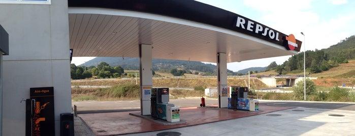 Estación de Servicio Repsol is one of Anselmo'nun Beğendiği Mekanlar.