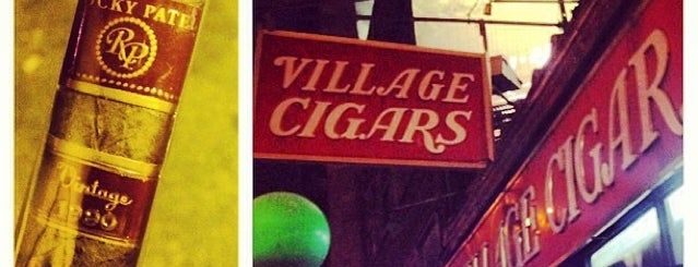 Village Cigars is one of Kouros'un Kaydettiği Mekanlar.