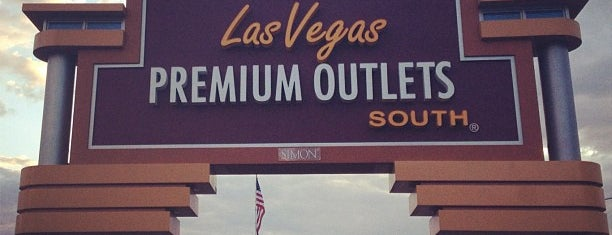 Las Vegas South Premium Outlets is one of Locais curtidos por Baha.