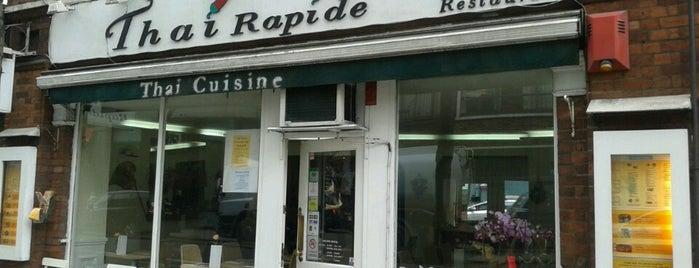 Thai Rapide is one of Lieux sauvegardés par Luke 🍺.