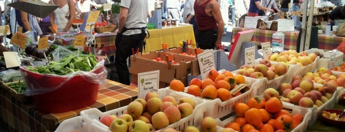 Ferry Plaza Farmers Market is one of San Fran.