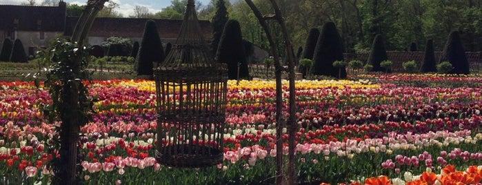 Jardins du Château de Chenonceau is one of Jas' favorite urban sites.