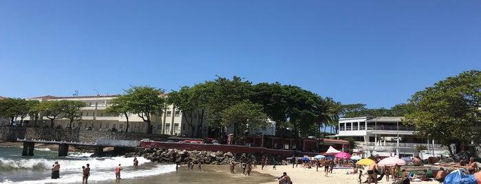Praia Do Forte De Copacabana is one of สถานที่ที่ Jésus ถูกใจ.