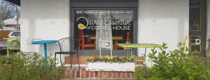 Quince Essential Coffee is one of Orte, die Andrea gefallen.