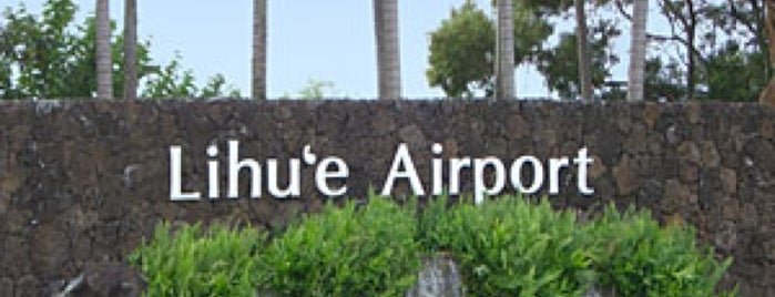 Lihue Airport (LIH) is one of Hawai'i.