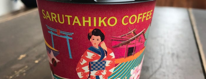 Sarutahiko Coffee is one of モリチャン'ın Beğendiği Mekanlar.
