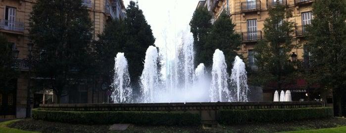 Plaza Bilbao is one of Louise'nin Beğendiği Mekanlar.
