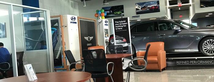 W.I.N. Hyundai is one of สถานที่ที่ Shamika ถูกใจ.