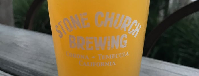 Stone Church Brewing is one of California Breweries 5.