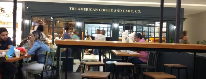 The American Coffee And Cake, Co is one of Tempat yang Disukai Adeangela.