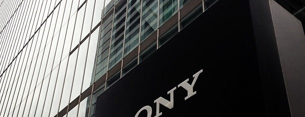Sony Corporation is one of Lieux qui ont plu à Hideo.
