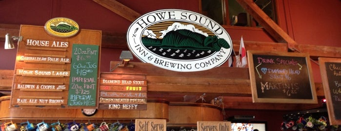Howe Sound Inn and Brewing Company is one of Vancouver.