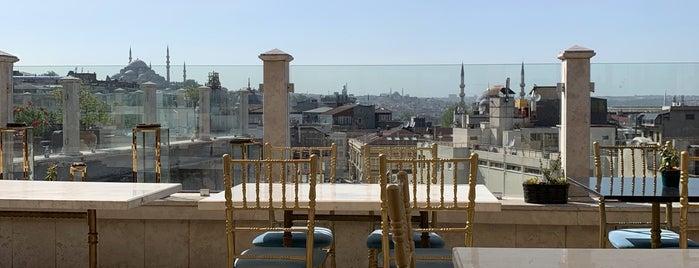 Roof Mezze 360 Restaurant is one of Istanbul.