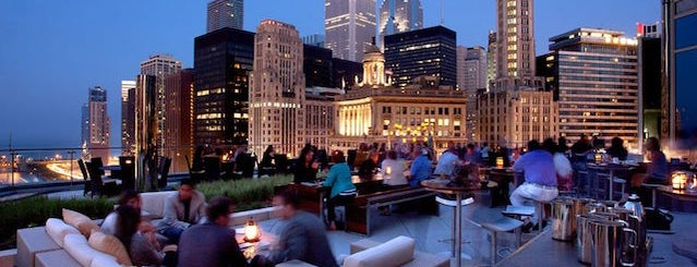 The Terrace at Trump is one of The 9 Best Rooftop Bars In Chicago.