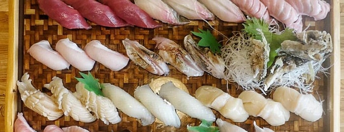 Sushi Hayakawa is one of The 33 Essential Atlanta Restaurants, Summer '17.