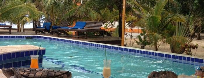 Maya Beach Hotel Bistro is one of Belize🌊🍹.