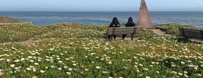 Very End of Santa Cruz West Cliff is one of Santa Cruz.