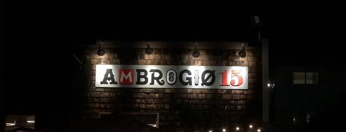 Ambrogio15 is one of Natural Wines in San Diego.