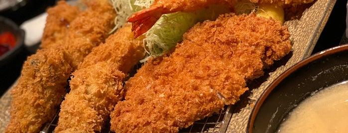 Tonkichi Tonkatsu Seafood is one of SVさんのお気に入りスポット.