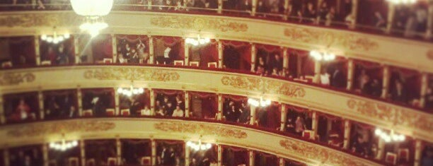 Teatro alla Scala is one of GAY GUIDE MILAN.