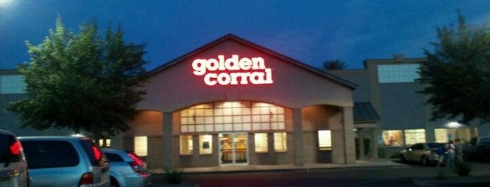 Golden Corral is one of Restaurants.