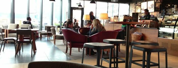Starbucks is one of Locais curtidos por Yuki.