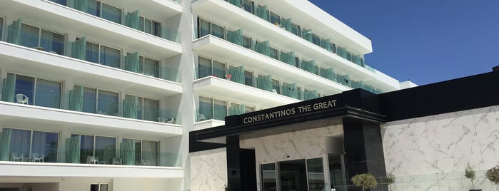 Constantinos The Great Beach Hotel is one of Locais curtidos por Ekaterina.