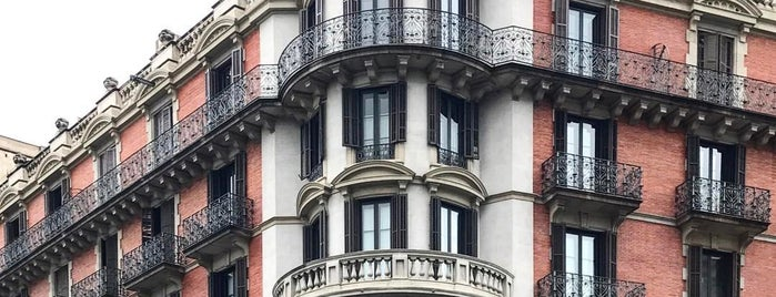 Casa Balmes is one of Barcelona.