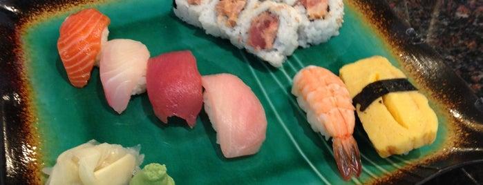 Sushi Bella is one of สถานที่ที่ Melanie ถูกใจ.