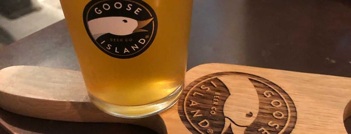 Goose Island Brewpub is one of London's Best for Beer.