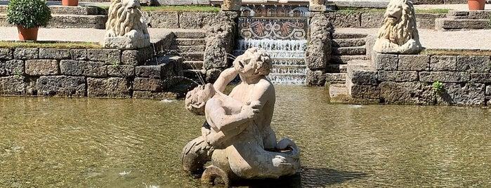 Wasserspiele Hellbrunn is one of Long weekend in Salzburg.