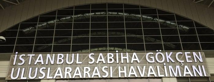İstanbul Sabiha Gökçen Uluslararası Havalimanı (SAW) is one of Sebahattin'in Beğendiği Mekanlar.