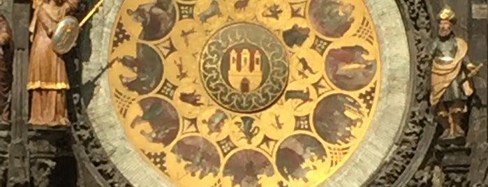 Prag Astronomik Saat is one of Sebahattin'in Beğendiği Mekanlar.