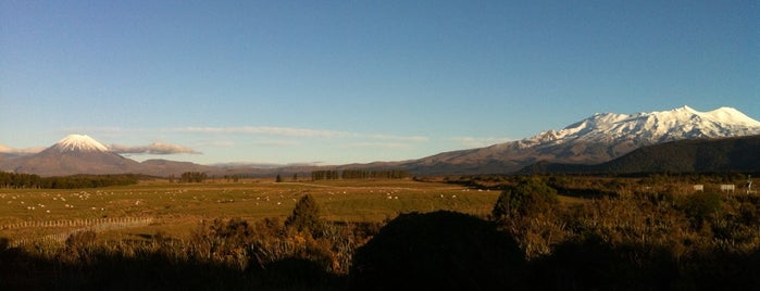 Tongariro National Park is one of Ruapehu.