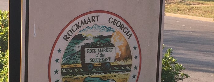 Rockmart, GA is one of David : понравившиеся места.