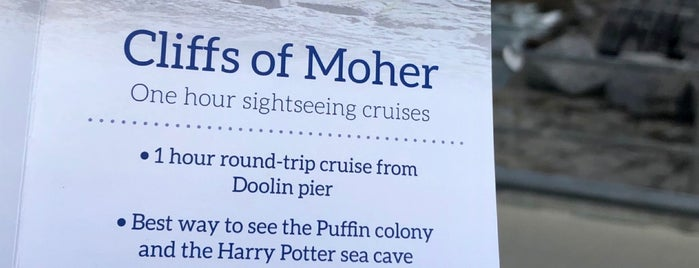 Cliffs of Moher Cruise is one of European Travel Bucket List #1.