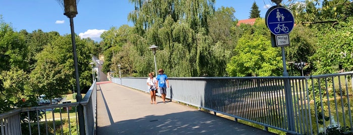 Poststeg is one of Donaupromenade Tuttlingen.
