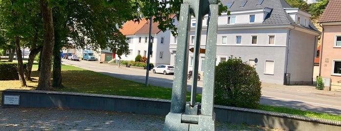 Ohne Titel (Weg zu den drei heiligen Pforten) is one of DonauHegauKunstweg Tuttlingen.