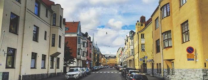 Huvilakatu is one of Helsinki.