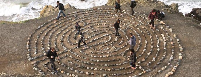 Lands End Labyrinth is one of Locais salvos de Andy🔥.