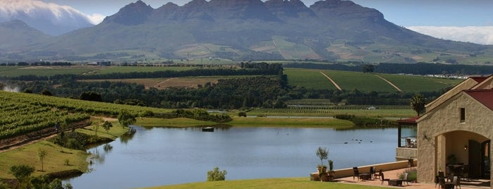 Asara Wine Estate is one of Stellenbosch.