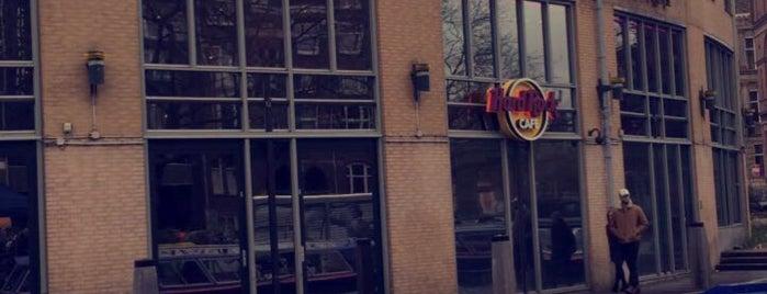Hard Rock Cafe Amsterdam is one of Lugares favoritos de Gözde.