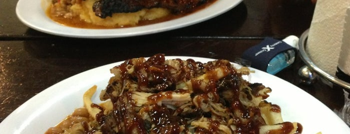 HRD Smokin' Grill is one of U.S. dishes to try.