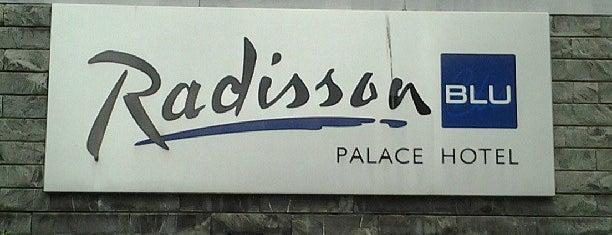 Radisson Blu Palace Hotel is one of Katerina 님이 좋아한 장소.