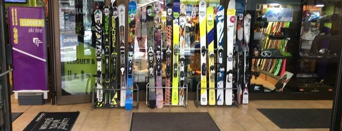 Saint Moritz Ski Centre is one of Tempat yang Disukai Run The.