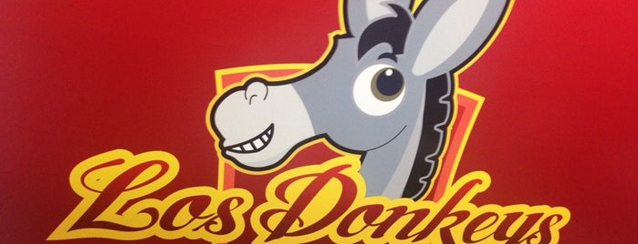 Los Donkeys Burritos Percherones is one of MONCHIZA EN MOCHIS.